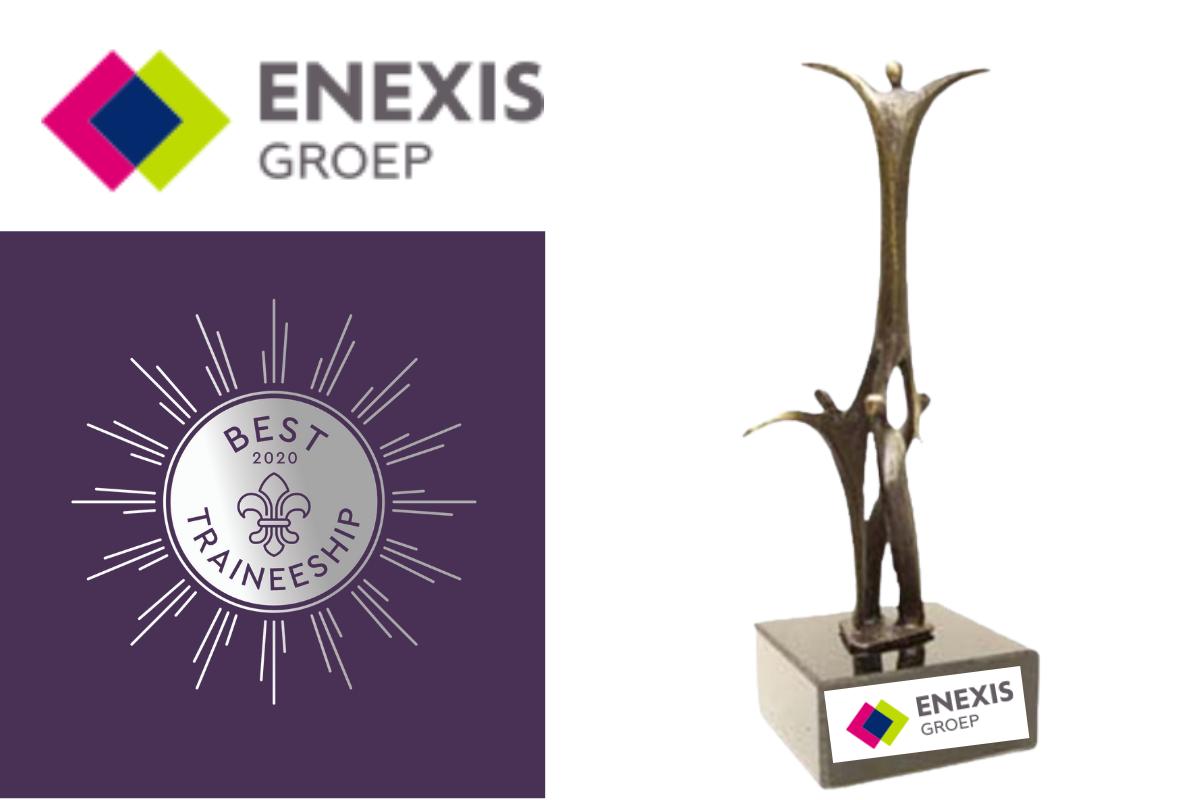 Overall Winner Best Traineeship 2020 - Enexis